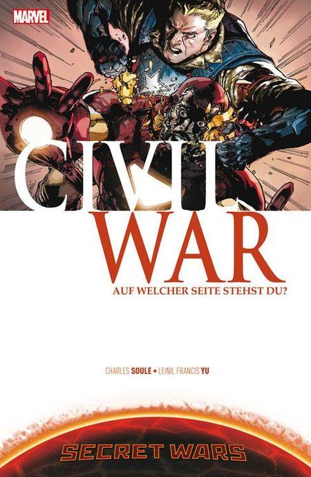 Secret Wars: Civil War - Das Cover