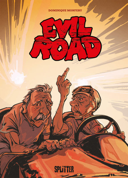 Evil Road - Das Cover