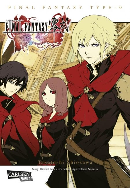 Final Fantasy - Type-0: Der Manga zum Game  - Das Cover