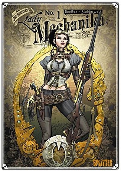 Lady Mechanika 1: Das Geheimnis der mechanischen Leiche - Das Cover