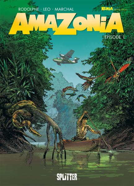 Amazonia 1 - Das Cover
