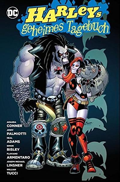Harley Quinn: Harleys geheimes Tagebuch 2 - Das Cover