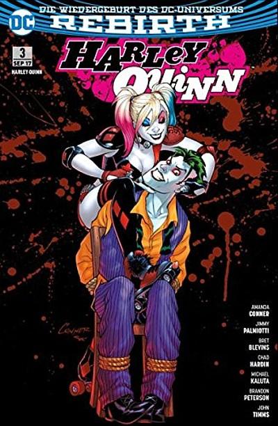 Harley Quinn (Rebirth) 3: Liebesgrüße vom Joker - Das Cover