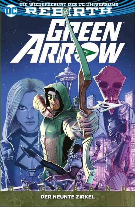Green Arrow (Rebirth) Megaband 1: Der neunte Zirkel - Das Cover