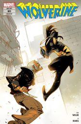 Wolverine 3: Wolverine vs. Logan - Das Cover