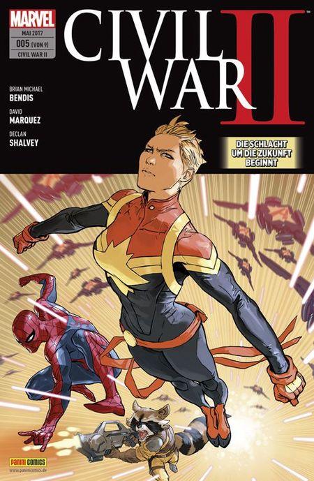 Civil War II 5 - Das Cover