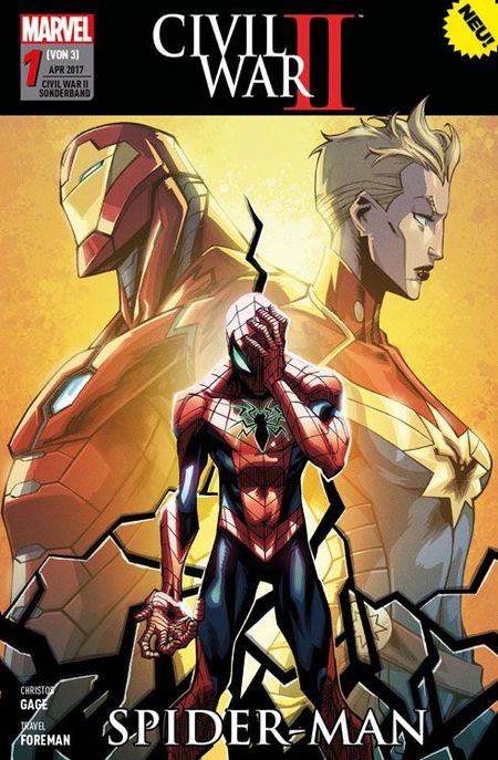 Civil War II Sonderband 1 - Das Cover