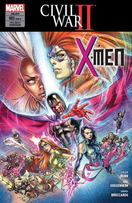 Civil War II Sonderband 3: X-Men - Das Cover
