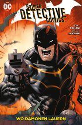 Batman Detective Comics Paperback 9: Wo Dämonen lauern - Das Cover