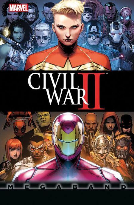 Civil War II Megaband - Das Cover