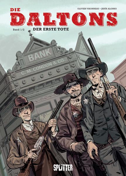 Die Daltons 1: Der Erste Tote - Das Cover
