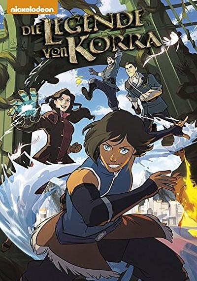 Die Legende von Korra 1: Revierkämpfe - Teil 1 - Das Cover