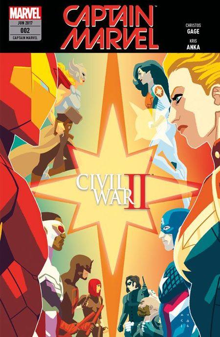 Captain Marvel 2 - Das Cover