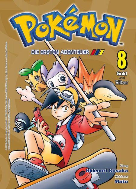 Pokémon: Die ersten Abenteuer 8 - Das Cover