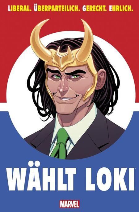 Wählt Loki - Das Cover