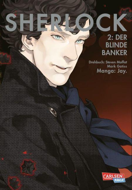 Sherlock 2: Der blinde Banker  - Das Cover