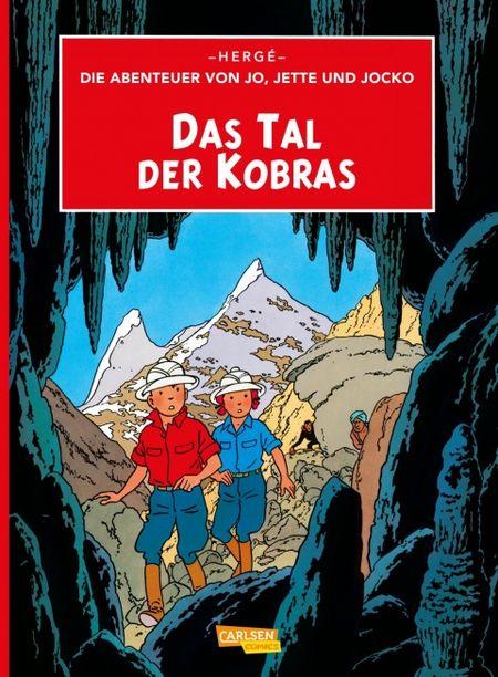 Die Abenteuer von Jo, Jette und Jocko 5: Das Tal der Kobras - Das Cover