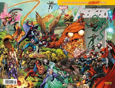 Avengers 8 - Das Cover