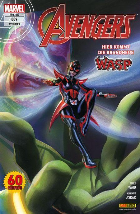 Avengers 9 - Das Cover