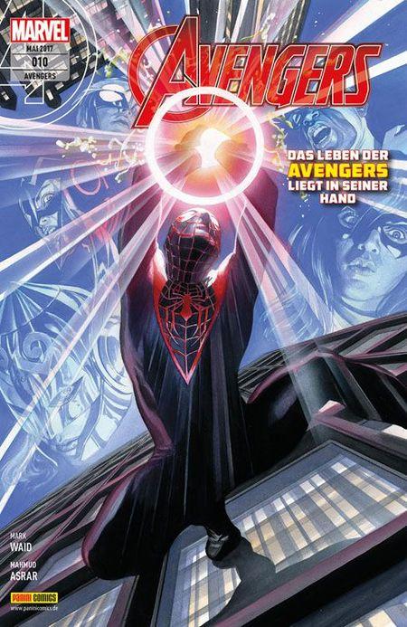 Avengers 10 - Das Cover