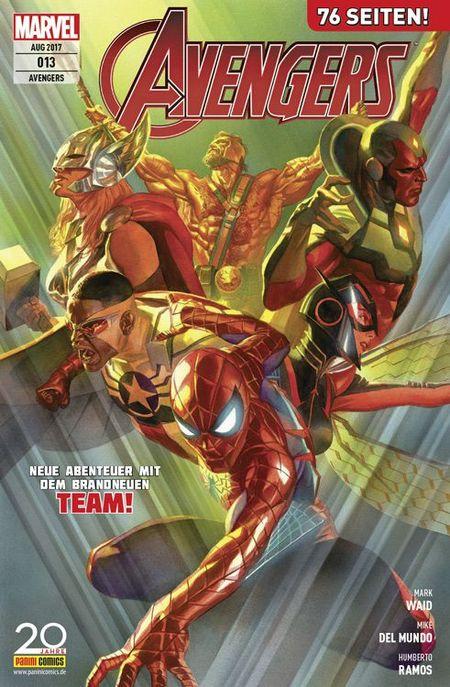 Avengers 13 - Das Cover