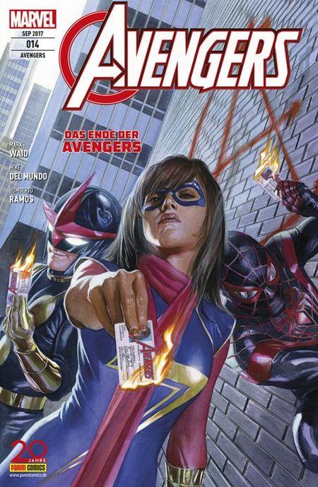 Avengers 14 - Das Cover