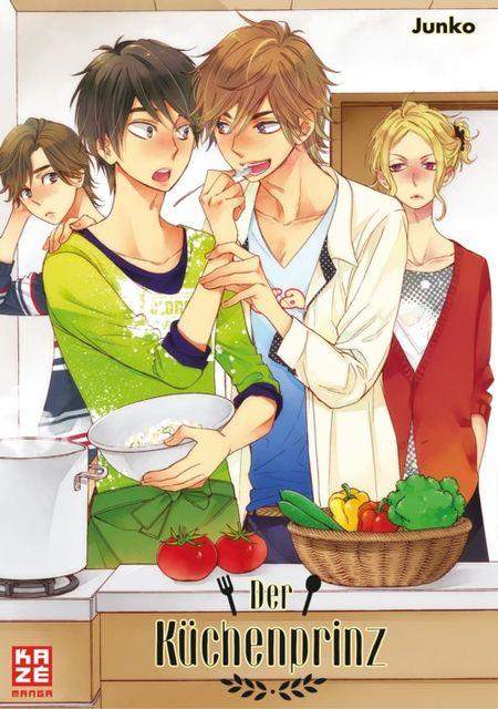 Der Küchenprinz  - Das Cover