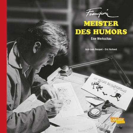 Franquin, Meister des Humors – Eine Werkschau - Das Cover