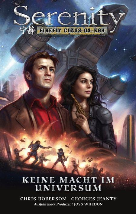 Serenity – Zwischen den Welten 4: Keine Macht im Universum - Das Cover