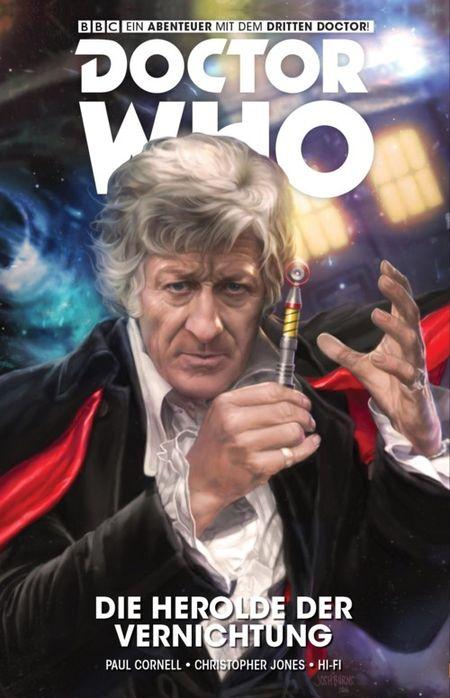 Doctor Who - Der dritte Doctor: Die Herolde der Vernichtung - Das Cover