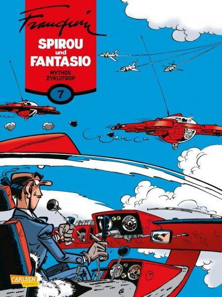 Spirou und Fantasio 7: Mythos Zyklotrop - Das Cover