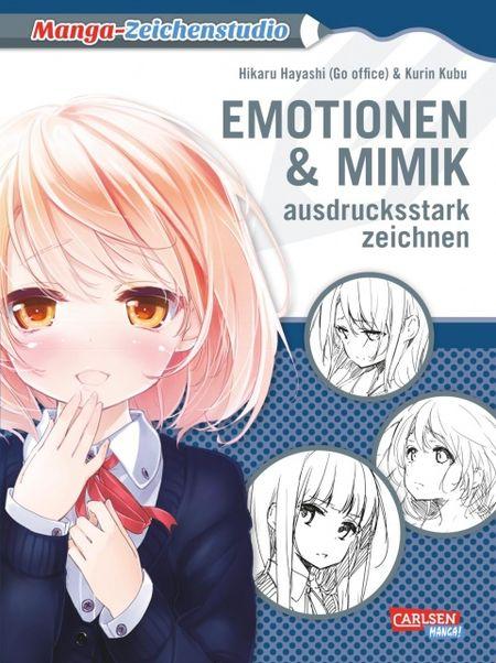 Manga Zeichenstudio: Emotionen und Mimik - Das Cover