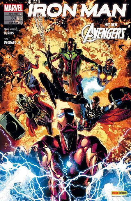 Iron Man 9 - Das Cover