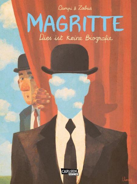 Magritte: Dies ist keine Biografie - Das Cover