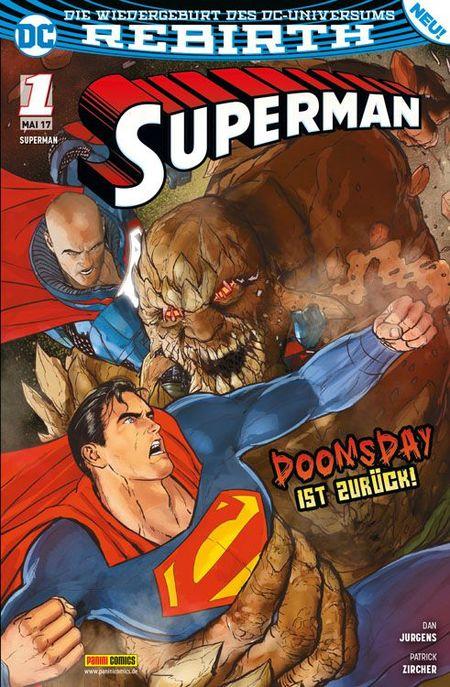 Superman 1 - Das Cover