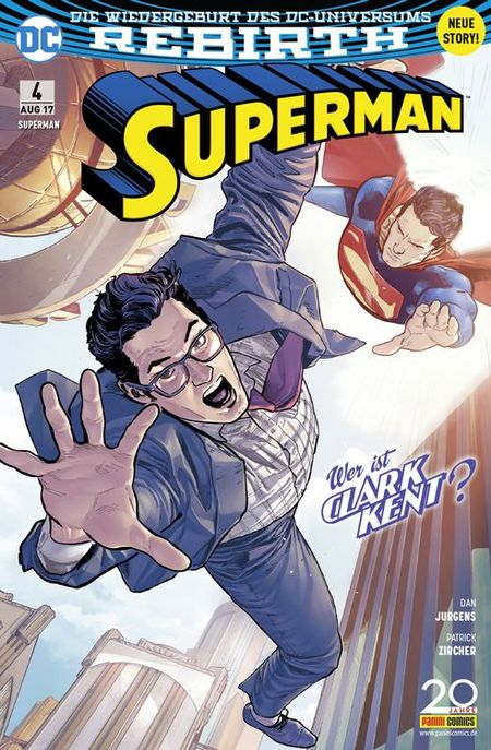 Superman 4 - Das Cover