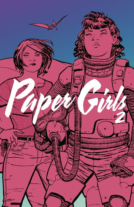 Paper Girls 2 - Das Cover