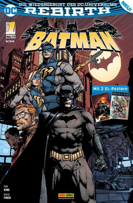 Batman 1 - Das Cover