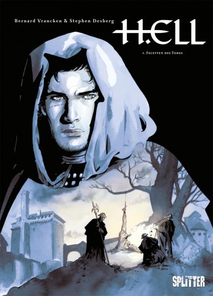 H.Ell 1: Facetten des Todes - Das Cover
