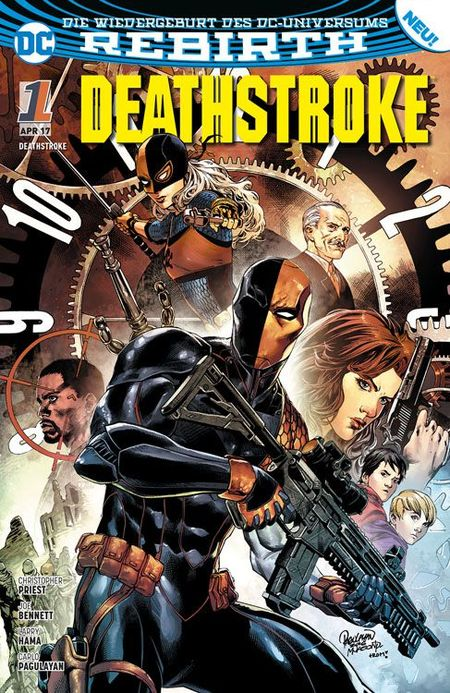 Deathstroke 1 - Das Cover