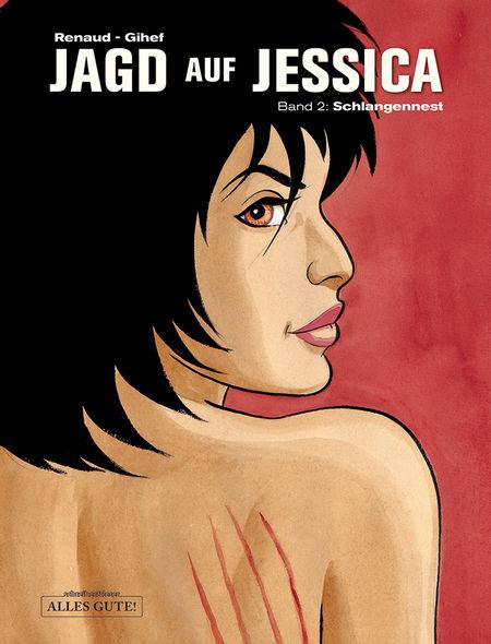 Jagd auf Jessica 2: Schlangennest - Das Cover