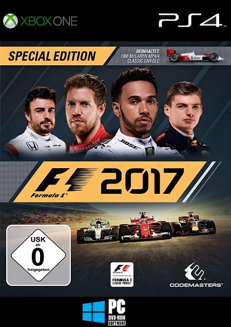 F1 2017 - Der Packshot