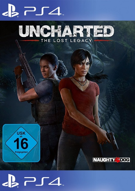 Uncharted: The Lost Legacy - Der Packshot