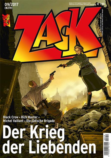 Zack 219 - Das Cover