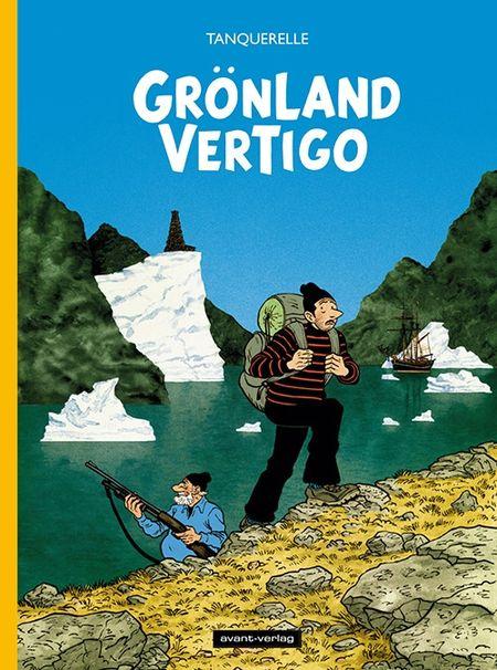Grönland Vertigo - Das Cover