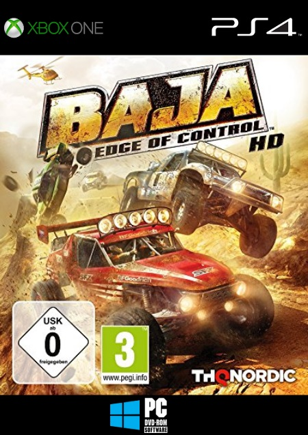 Baja: Edge of Control HD - Der Packshot