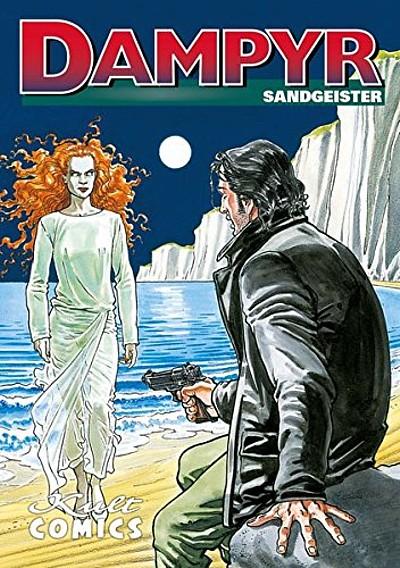 Dampyr 2: Sandgeister - Das Cover