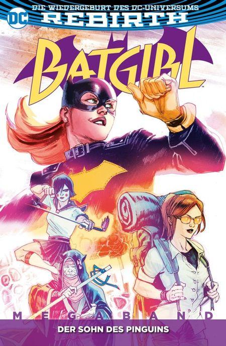 Batgirl Megaband 1: Der Sohn des Pinguins - Das Cover