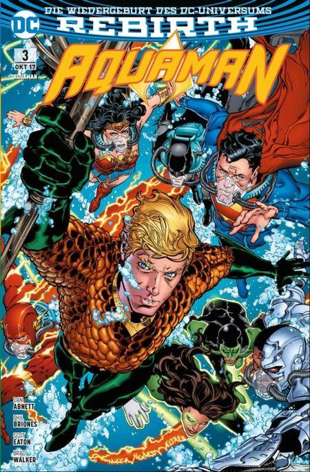 Aquaman 3: Die Flut - Das Cover