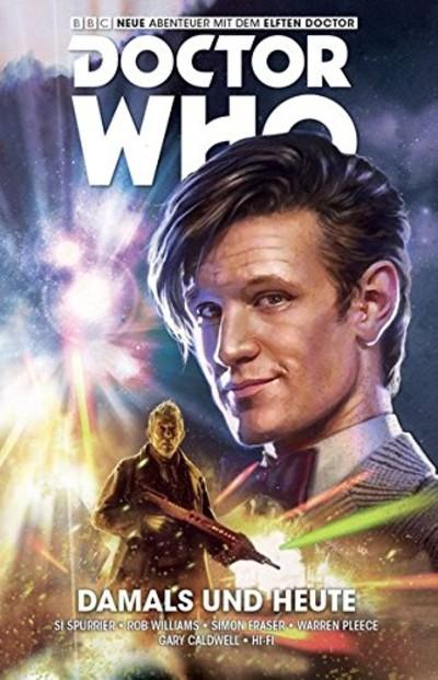Doctor Who – Der elfte Doctor 4: Damals und Heute - Das Cover